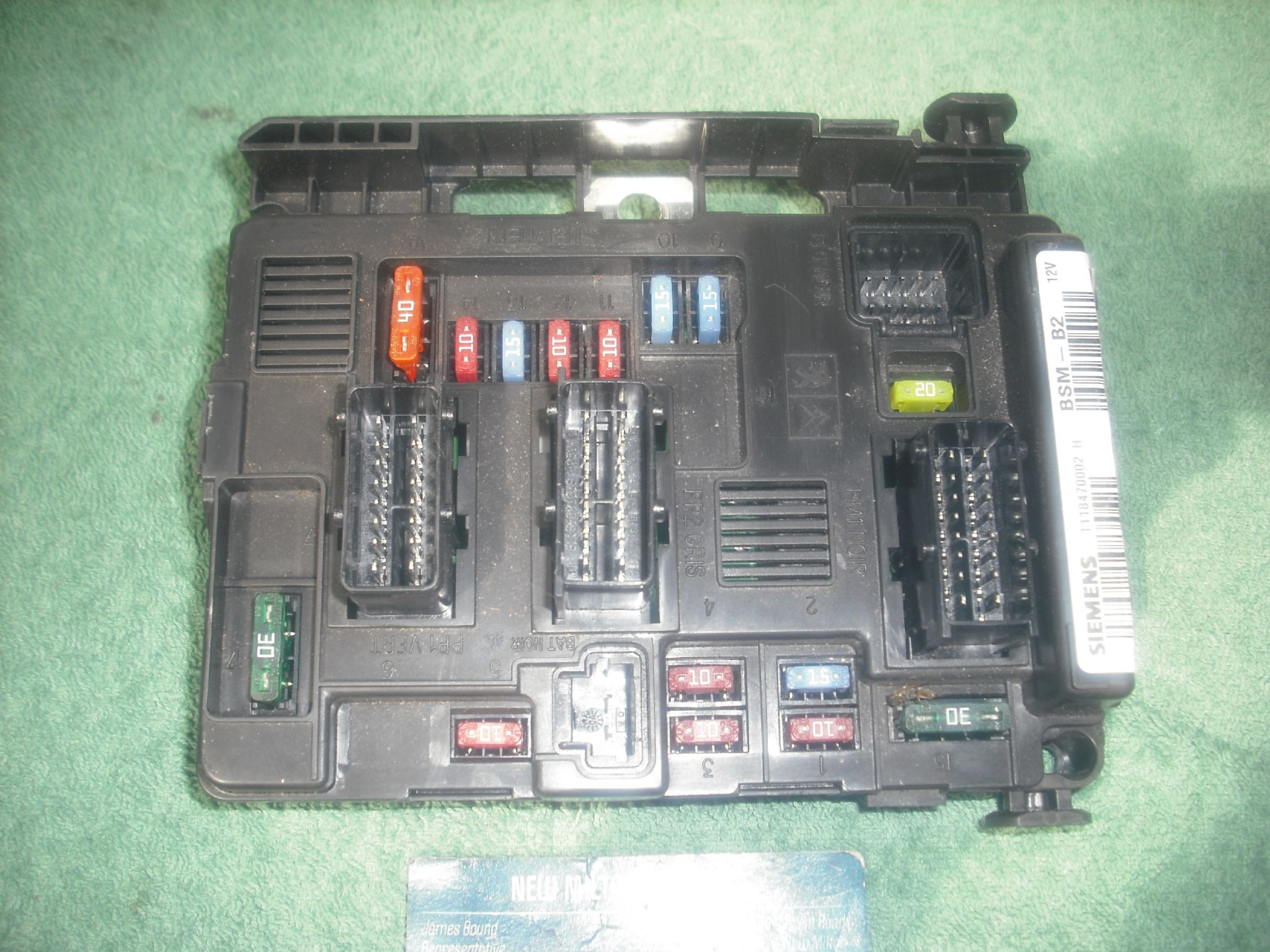 Peugeot 206 Fuse Box Electrical Wiring Diagrams Layout Diagram Ebay For Light Switch U2022
