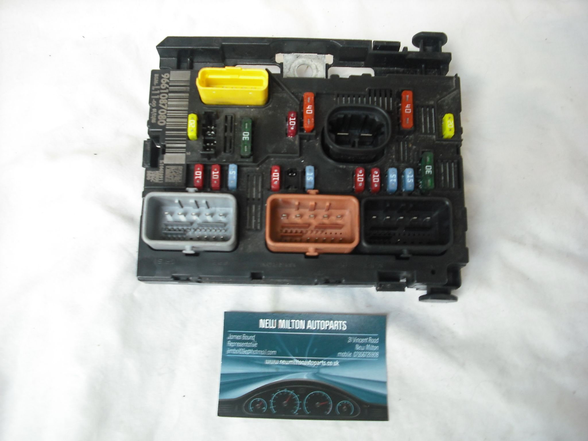 Engine Fuse Box Peugeot 307 : A genuine peugeot hdi engine bay fuse box control