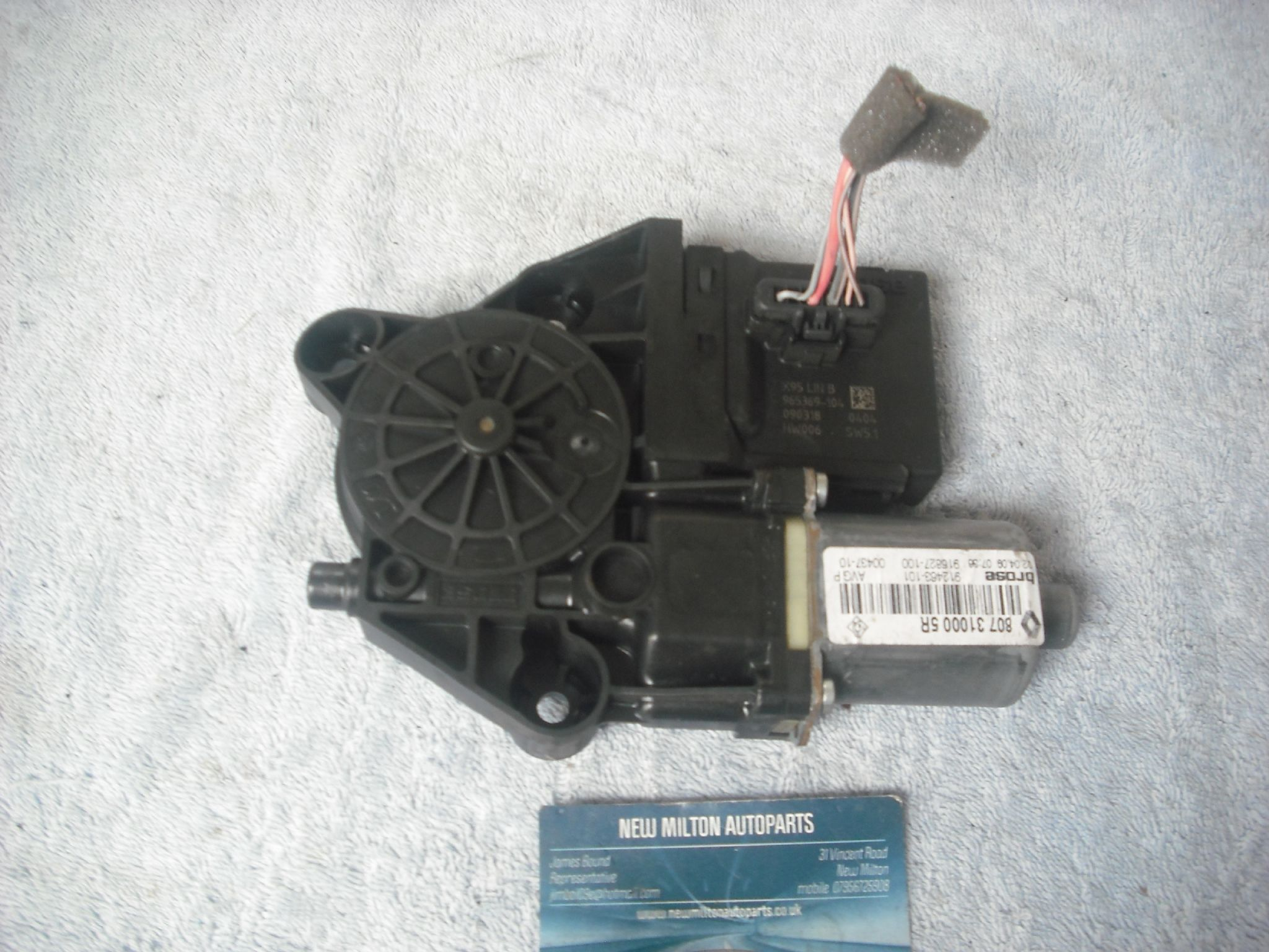 Window Motor Renault Megane