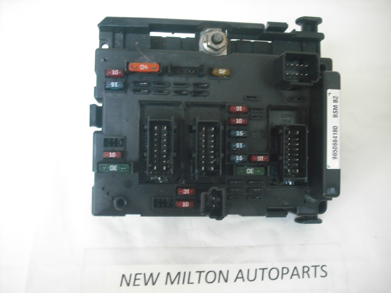 Citroen C3 Engine Fuse Box Layout Wiring Library Manual 2002 2005 Control Module Bsm B2 9650664180