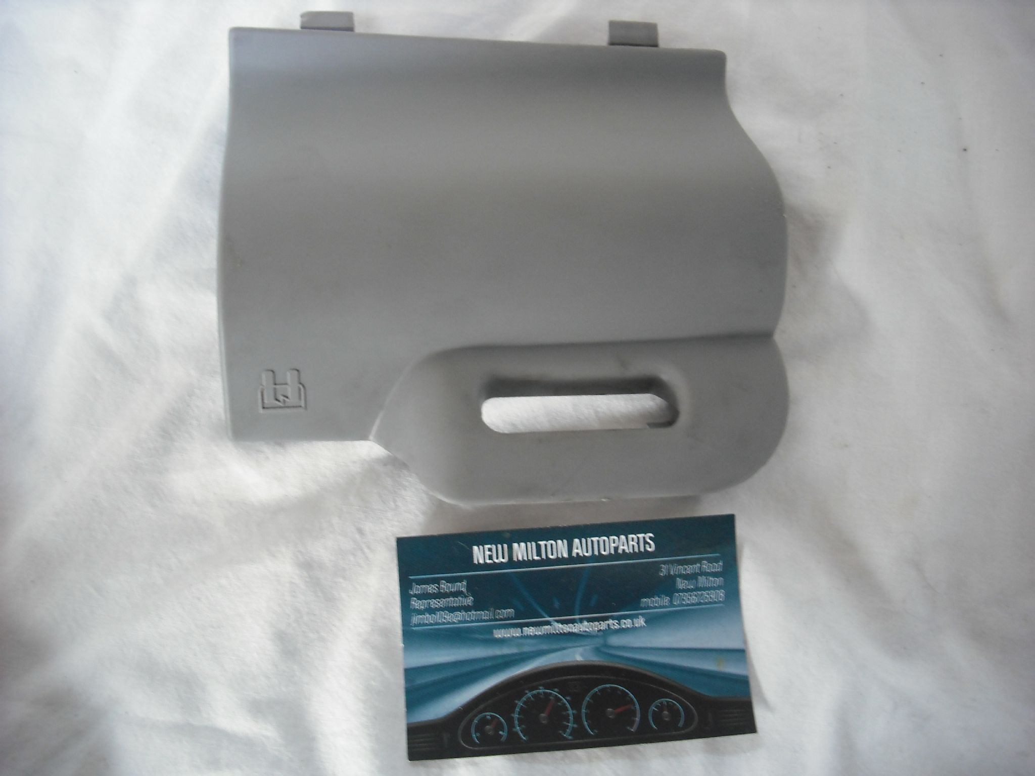 citroen c3 pluriel interior dash fuse box trim cover grey