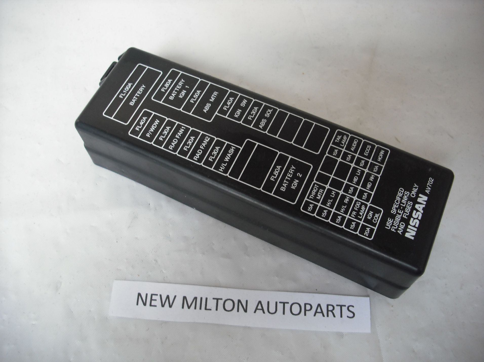 nissan primera p12 engine bay fuse box cover lid 2134 p nissan primera p12 engine bay fuse box cover lid fuse box lid at mifinder.co