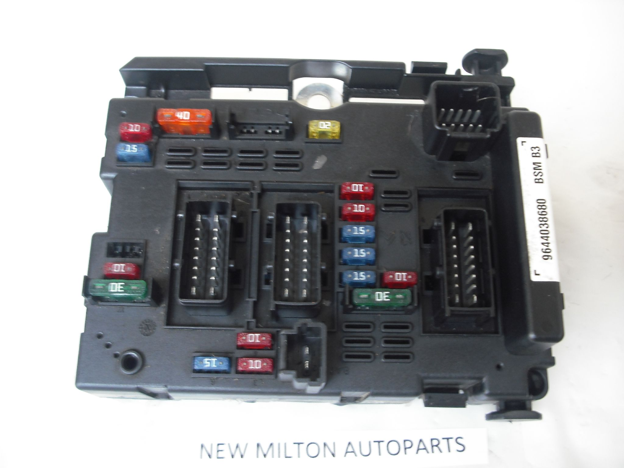 peugeot partner van fuse box layout