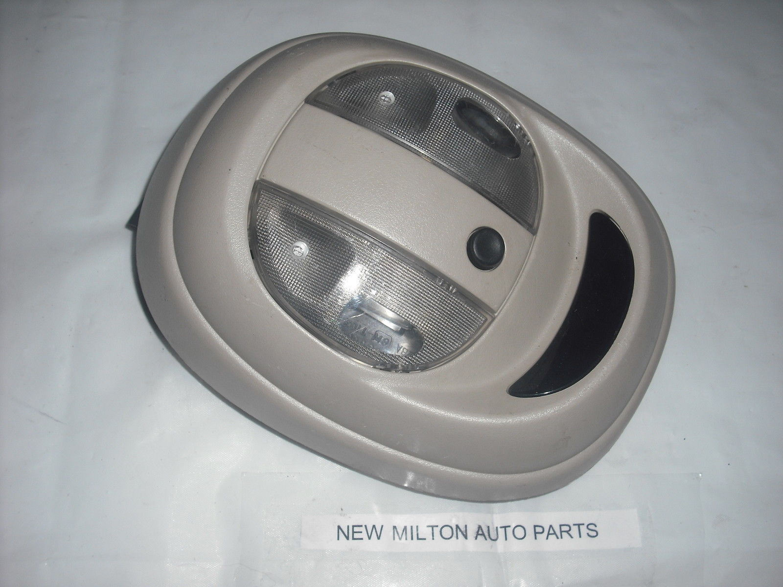 pt cruiser interior roof panel map lights and led clock