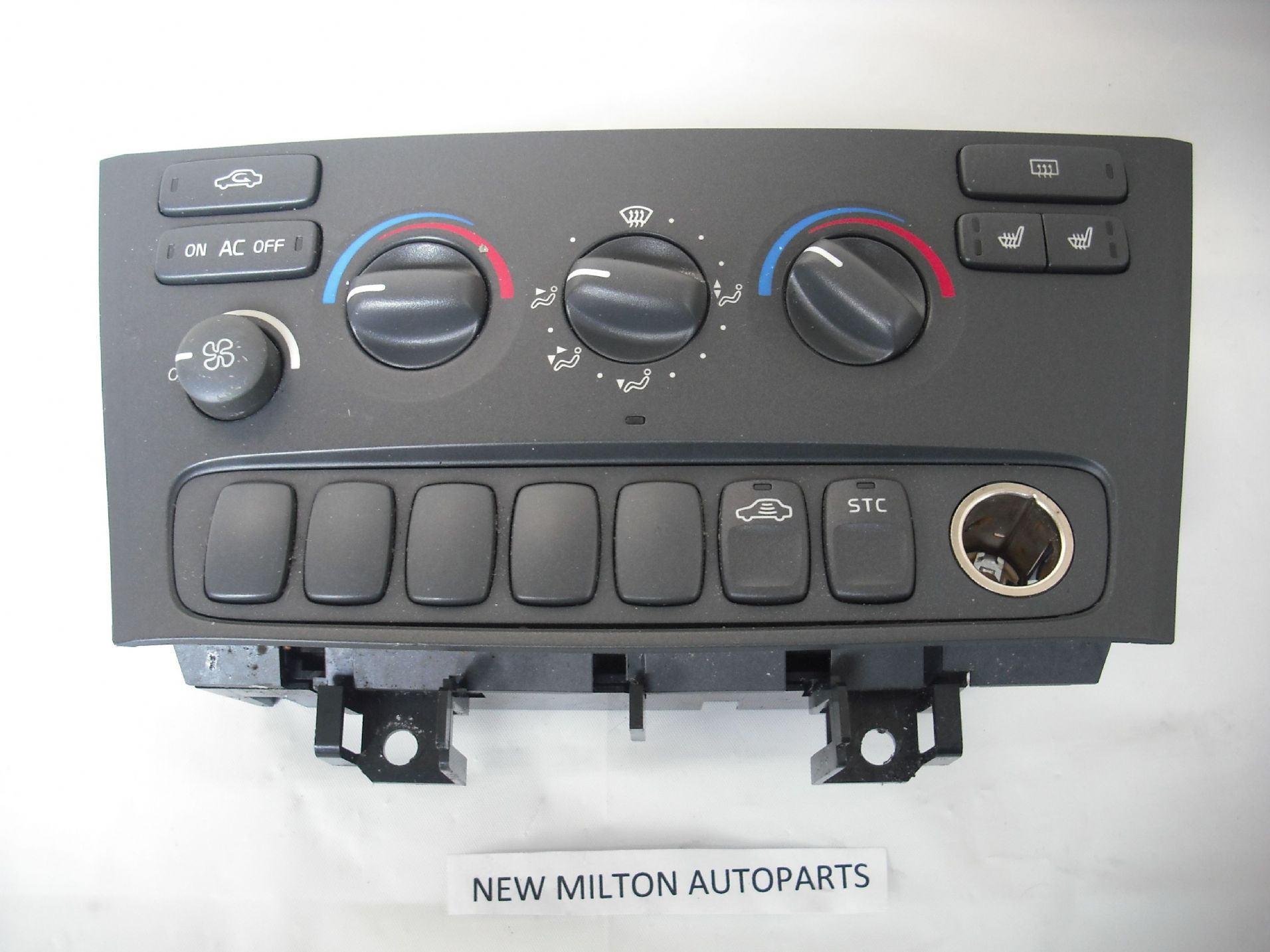 VOLVO S60 S80 V70 XC90 A C HEATER CONTROL PANEL HEATED SEATS ...
