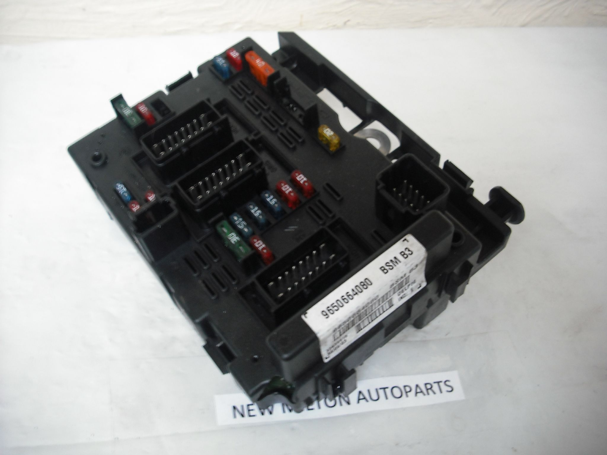 Delphi Fuse Box Wiring Diagrams Fiat Doblo Engine Compartment And Relay Table Sorry Out Of Stock Citroen C8 Peugeot 807 Controller 9650664080 Bsm B3
